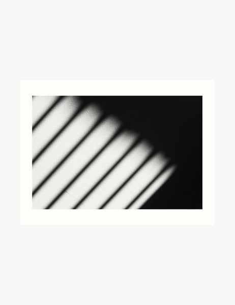 LIGHT AND SHADOW. Black and white photography. Abstract, minimalist printable wall art. LIGHT AND SHADOW art print. - PAPER MOON Art & Design