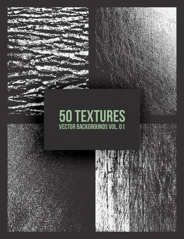 50 Vector Grunge Texture Backgrounds 01 Grungy Vector Illustrations - Paper Moon Art & Design