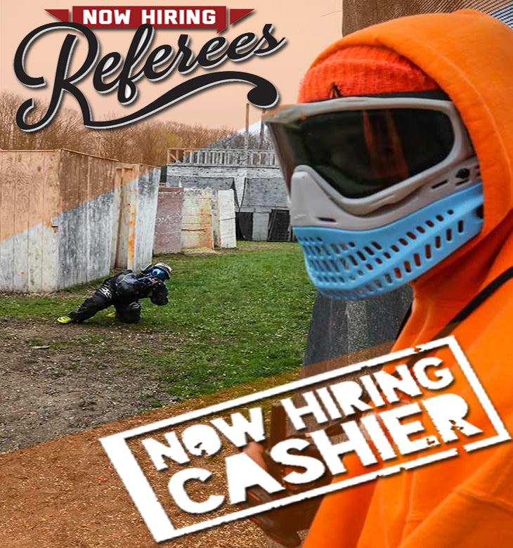Now Hiring Referees and Cashiers