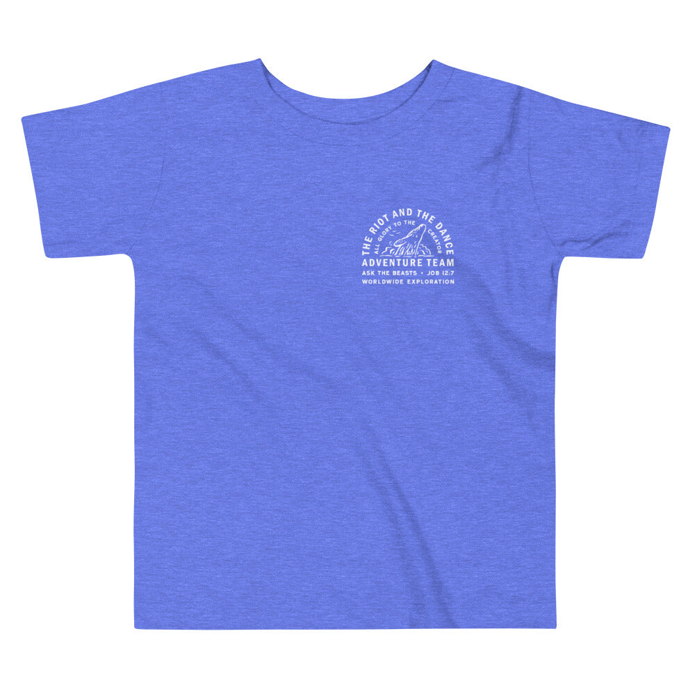 Toddler Adventure Team Tee