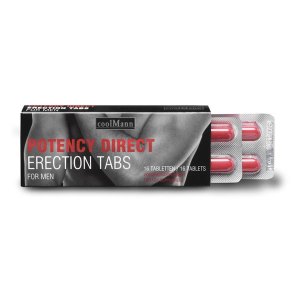 Male Potency Direct Potenz-Nahrungsergänzungsmittel coolMann E22572 - Liebesleben & More