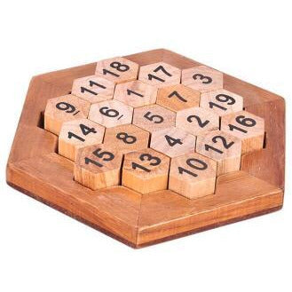 Classic IQ  Mind Brain Teaser 2D 3D Wooden Educational Game for Adults Children