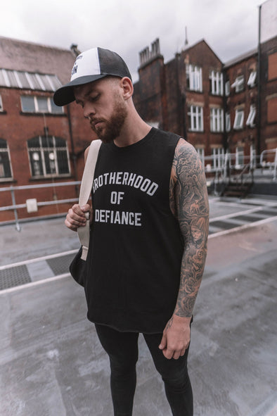 BROTHERHOOD OF DEFIANCE - CUT OFF T-SHIRT