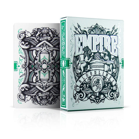Empire Bloodlines Emerald Playing Cards
