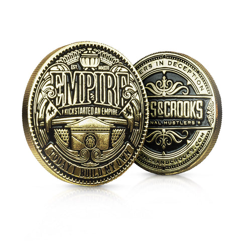 "Empire 1.5"" Poker Card Guard - Limited Edition"