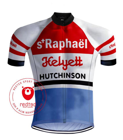 Saint Raphaël Retro Cycling Jersey