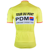 Retro Wielershirt PDM - Geel