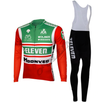 Retro Combinationset long pants 7-Eleven - Red/Green