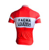 Retro Cycling Jersey Faema Guerra - Red