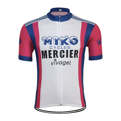 Retro Cycling Jersey Miko-Mercier-Vivagel