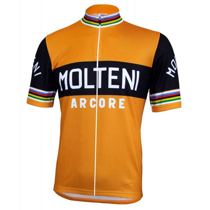 Retro Wielershirt Molteni - Oranje
