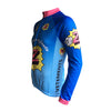 Retro Cycling Winterjacket (fleece) Z-Peugeot - Multicoloured