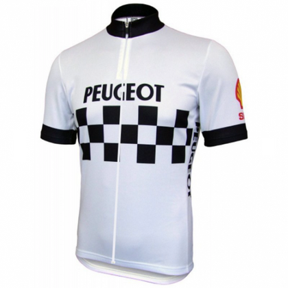Retro Cycling Peugeot - White