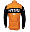 Retro Winter Radjacke Molteni - Orange