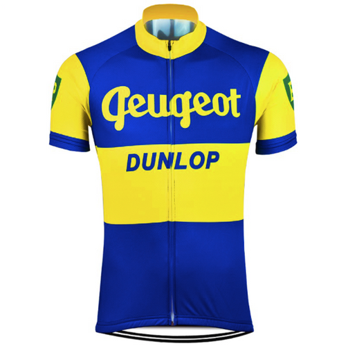 Retro Cycling Peugeot - Blue/Yellow