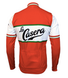 Retro Winter Wielerjack (fleece) La Casera - Rood