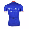 Retro Cycling Jersey Willem II-Gazelle - Blue