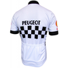 Retro Wielershirt Peugeot - Wit