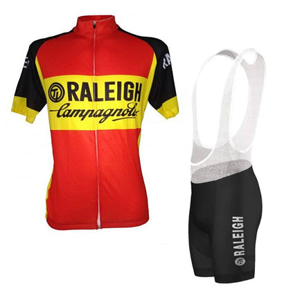 Retro Radtrikot Set TI-Raleigh - Rot