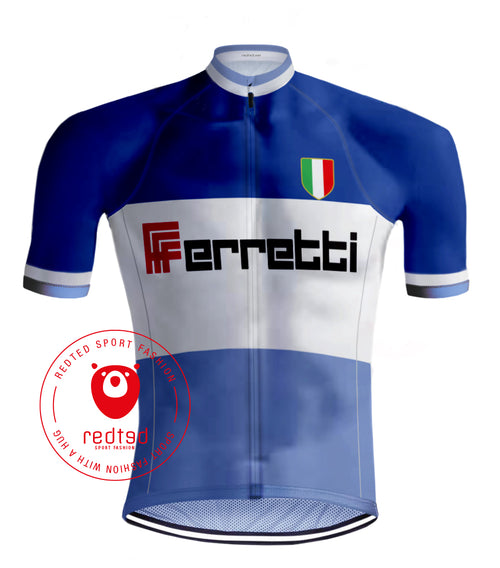Retro Wielershirt Ferretti - REDTED