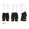 Cycling shorts IJsboerke - REDTED - Black
