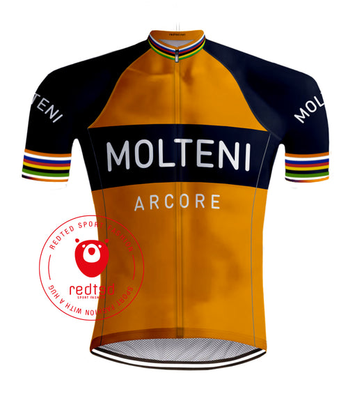 Retro Radtrikot Molteni Orange - Redted Retro
