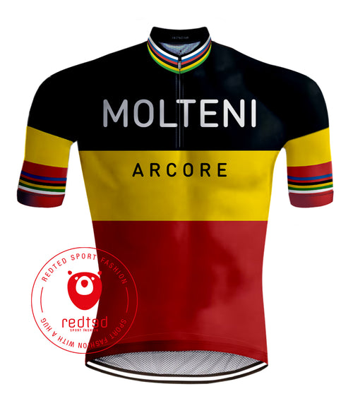 Retro Wielershirt Molteni - REDTED