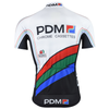 Retro Cycling Jersey PDM - White