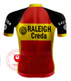 Retro Wielershirt TI-Raleigh - REDTED