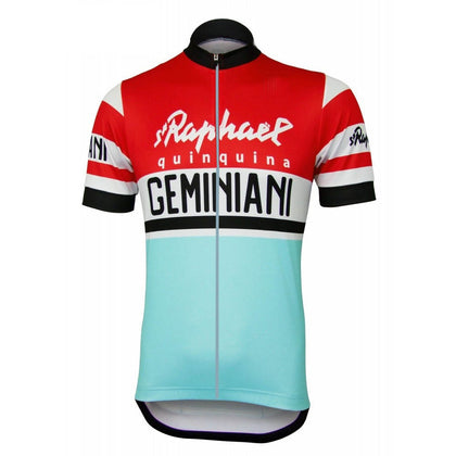 Retro Cycling Jersey Saint-Raphaël - Red/Blue