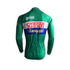 Retro Winter Wielerjack (fleece) Sanson - Groen