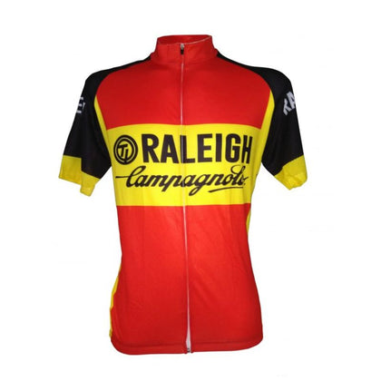 Retro Cycling Jersey TI-Raleigh - Red