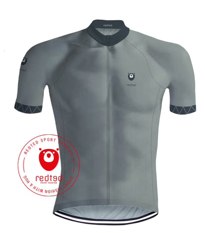 Maillot Cyclisme VIKING Grise - REDTED