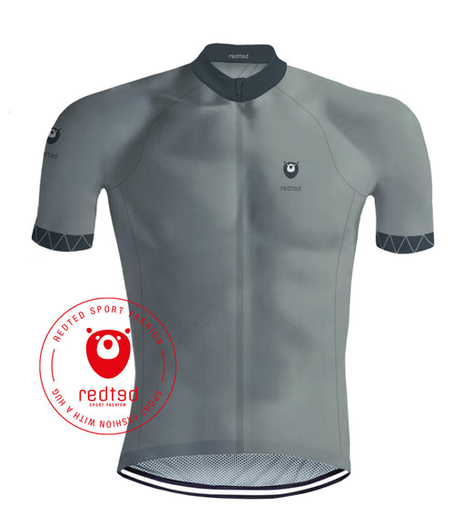 Cycling Jersey VIKING Grey - REDTED