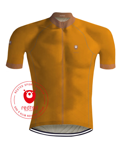 Wielershirt VIKING Oranje - REDTED