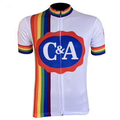 Limited edition C&A wielershirt - C&A - Eddy's laatste team
