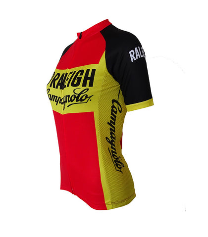 Retro Cycling Jersey Women TI-Raleigh