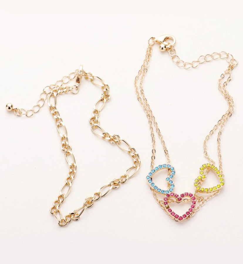 3 of Hearts Anklet