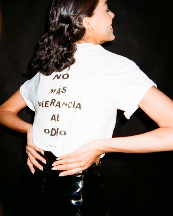 No más tolerancia al odio T-Shirt
