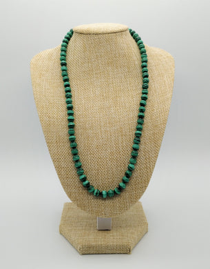 Collier Malachite qualité extra 6mm 42cm