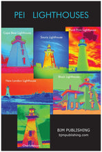 Load image into Gallery viewer, Poster - PEI Lighthouses - 24 x 36 inches