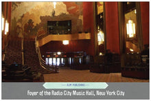 Load image into Gallery viewer, Radio City Music Hall foyer