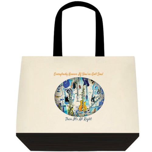 Clothing - accessory - Tote bag - If you've got soul then it's all right