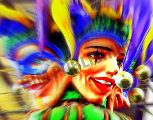 Greeting Card - Places - Carnival - Horizontal