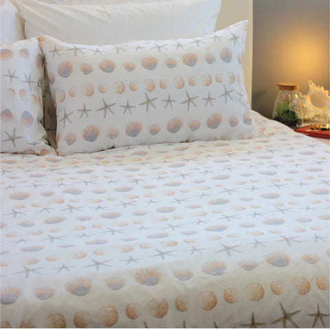 Duvet Cover Set - Sea Shore - Queen