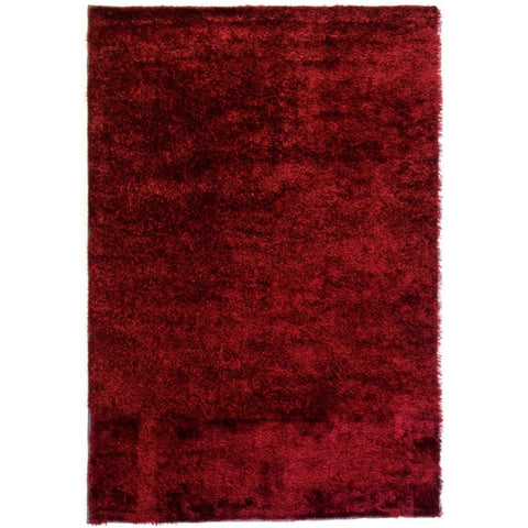 Rug Chicago Plain - Maroon - 136 x 200