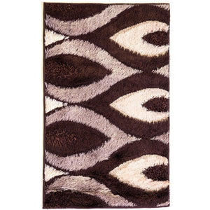 Rug Pastel - Dark Brown - 80 x 120cm