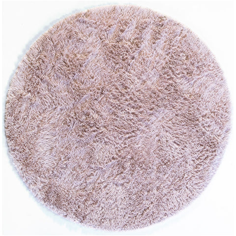 Rug Cloud9 Round Shaggy - Natural 120 x 120