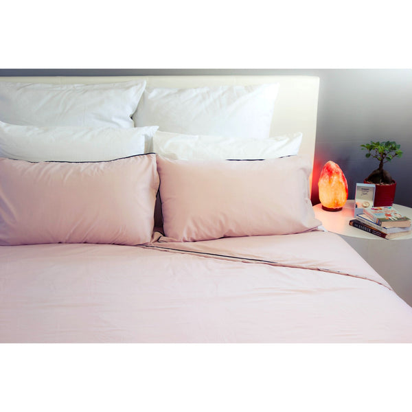 Duvet Cover Set - Blush Pink - Queen