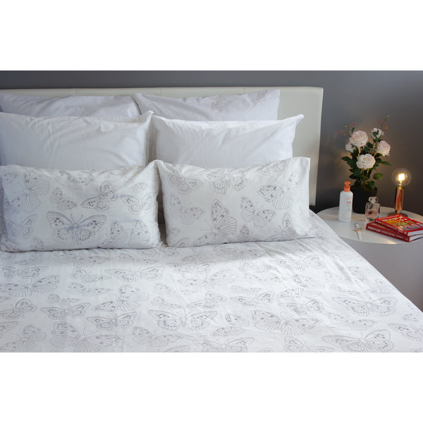 Duvet Cover Set - Butterfly Colony - Queen
